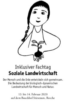 """Tagung """"Soziale Landwirtschaft"""" am 13./14.2.2020 Bauckhof Stütensen"""
